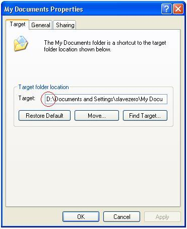 How to change the location of my documents folder for Windows 7 my documents location change