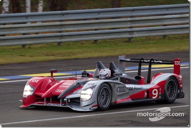 04-11.06.2010 Le Mans, France, #9 Audi Sport North America Audi R15: Mike Rockenfeller, Timo Bernhard, Romain Dumas