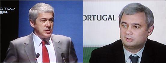Sócrates e Silva Pereira