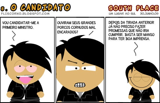 South Place 08 - O candidato