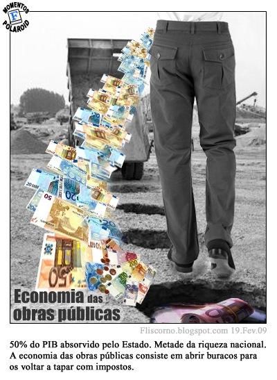 Momentos Polaroid - Economia das obras publicas
