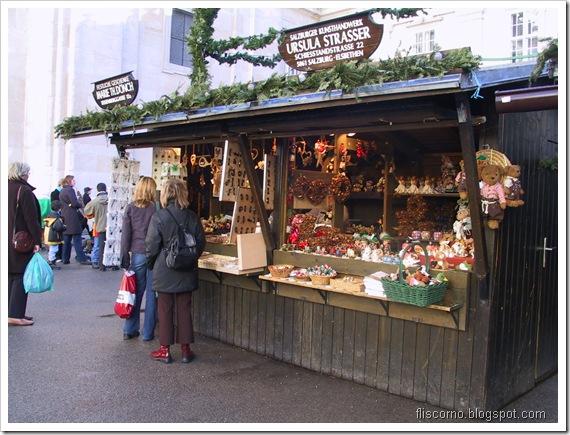 Salzburgo, mercado de Natal