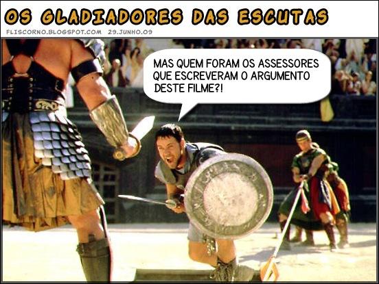 gladiadores das escutas