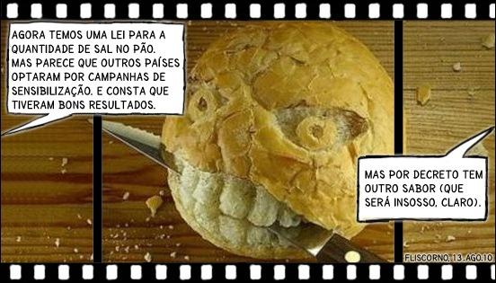 film strip - sal no pão