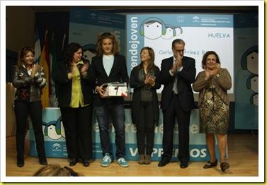 Foto entrega premios Emprendejoven VII Ideas