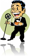 Master of Ceremony Cartoon image