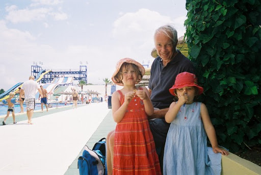 Dad and the Grand Children in 2008