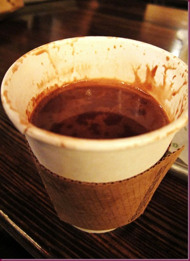 Salted Peanut Butter Hot Chocolate – diabetes in a cup!