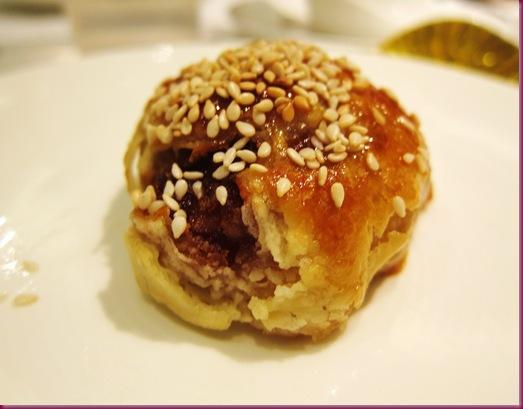 shang palace baked bbq pork puff