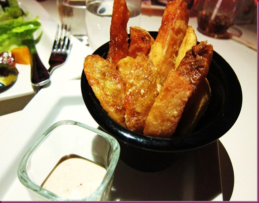 torch restaurant and bar connecticut truffle fries