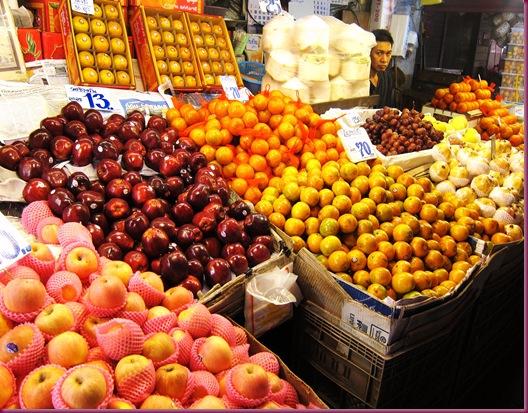 wororot market fruit stand