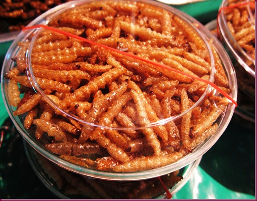 wororot market edible insects