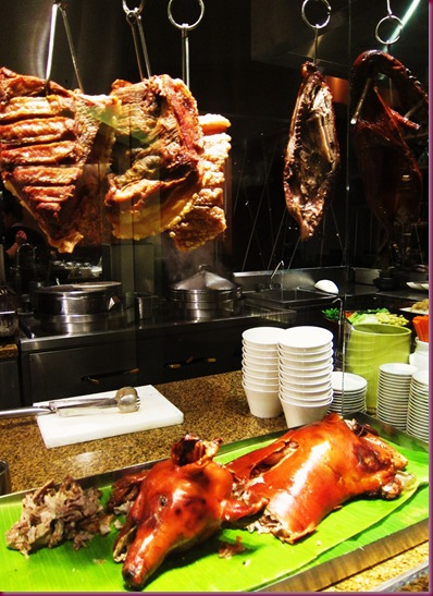 circles buffet at makati shangrila lechon