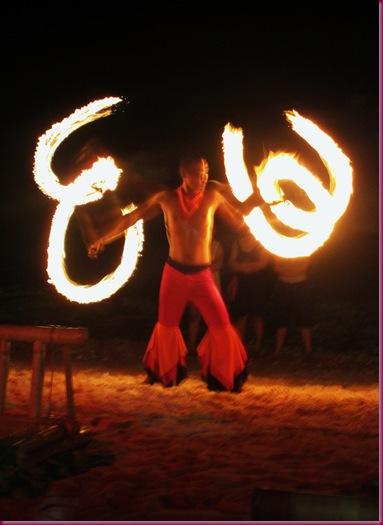 fire dance boracay