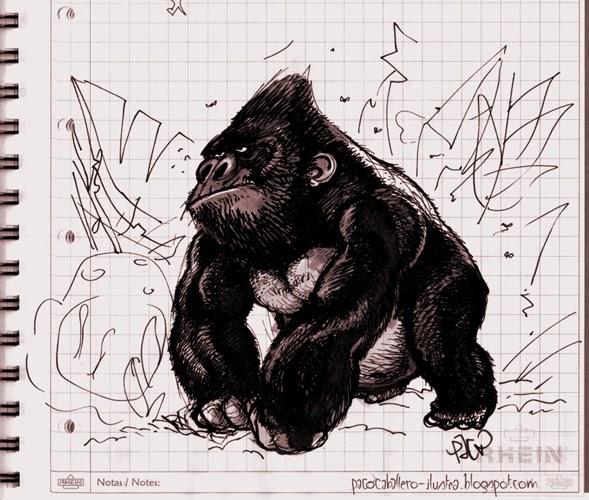 Gorilas y bananas paco caballero - Paco caballero ...