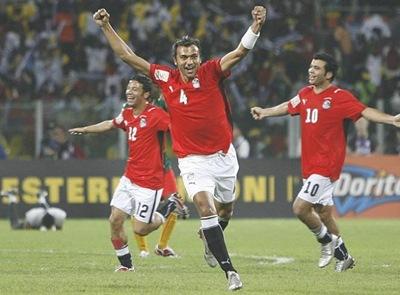 Egipto venció 3-1 a Nigeria en Copa Africa