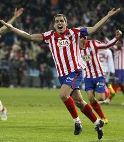 Atlético de Madrid  2, Sevilla  1