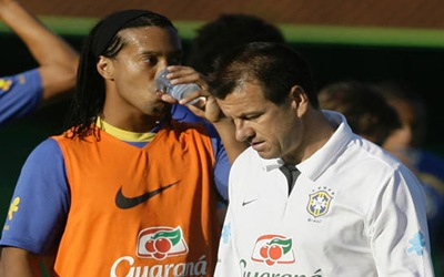 Dunga y Ronaldinho