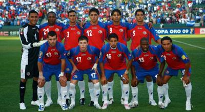 Costa Rica enfrenta en partido de ida a Uruguay por el repechaje o repesca