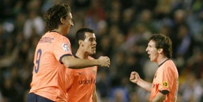 Barcelona 3, Deportivo La Coruña 1