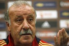 Vicente del Bosque, entrenador  de la selección de España