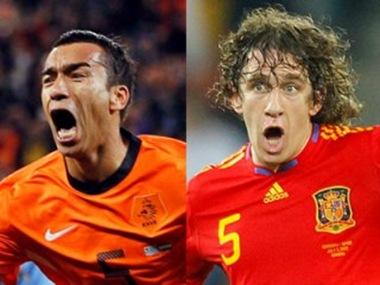España y Holanda disputarán la gran final