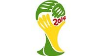 Emplemna oficial del Mundial 2014 organizado por Brasil