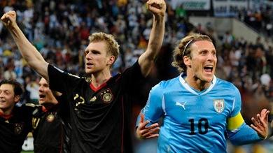 Uruguay vs Alemania por el tercer puesto, mundial sudafrica 2010