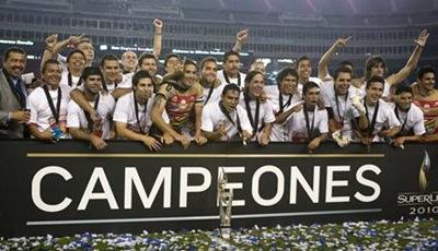 Monarcas Morelia campeón del Superliga 2010