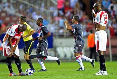 Sevilla cayó 3-4 ante Sporting de Braga
