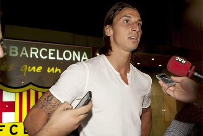 Zlatan Ibrahimovic en el AC Milán