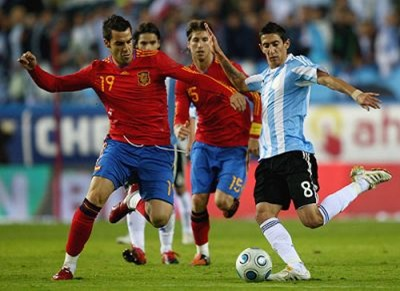 Argentina vs. España, partido amistoso
