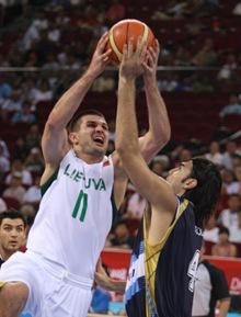 Basket Lituania vs Argentina