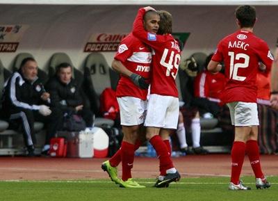 Spartak Moscú recibe al  Žilina