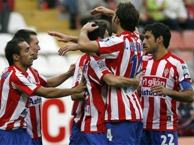 Sporting de Gijón visita al Real Zaragoza en partido jornada 6