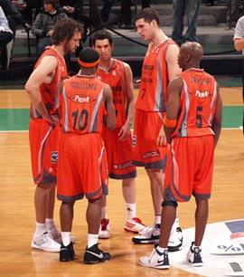 Valencia Basket Club enfrenta al  Cajasol