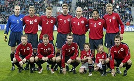 Noruega enfrenta a Dinamarca