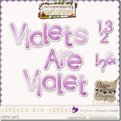 Violets Are Violet {the alpha}