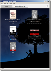 Kindle For PC - homepage