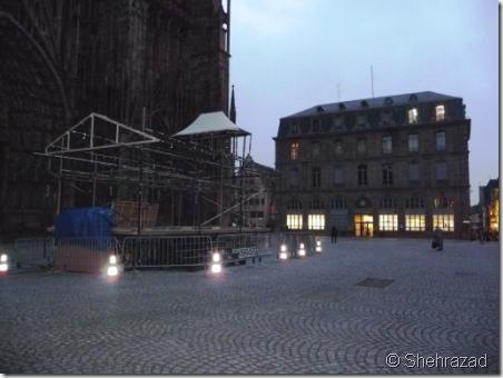 Place de la Cathérale Strasbourg