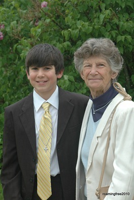 Bryce and Grandma