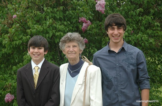 Grandma and Boys