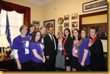 Lobby Day 2010 MN team with Keith Ellison