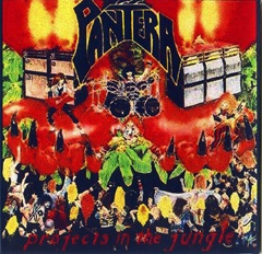 Pantera - Projects In The Jungle - Front