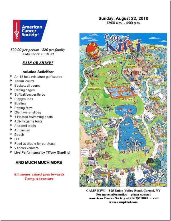 American Cancer Family Fun Day