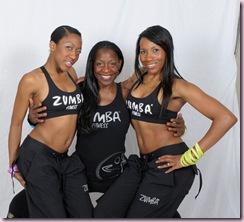 ZUMBA sisters ansari