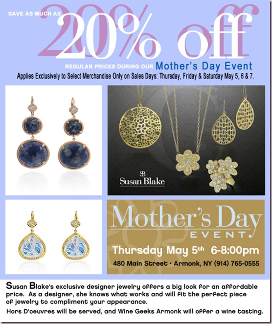 susan blake mothers day sale