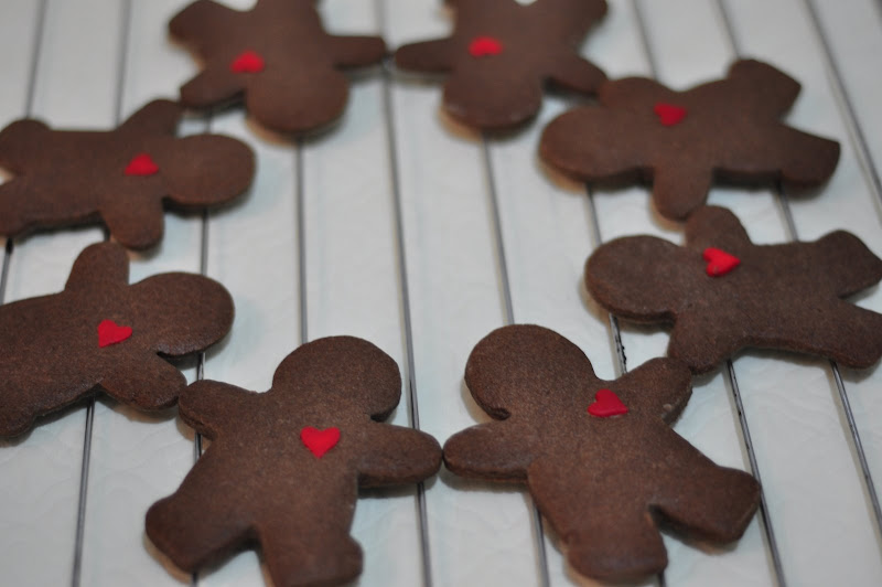 Bake With Me Chocolate Gingerbread Man