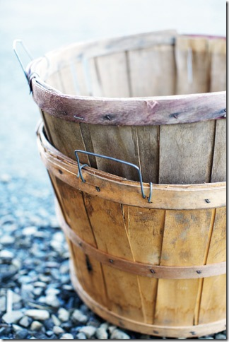 apple baskets by Stacey Van Berkel-Haines for Garden and Gun