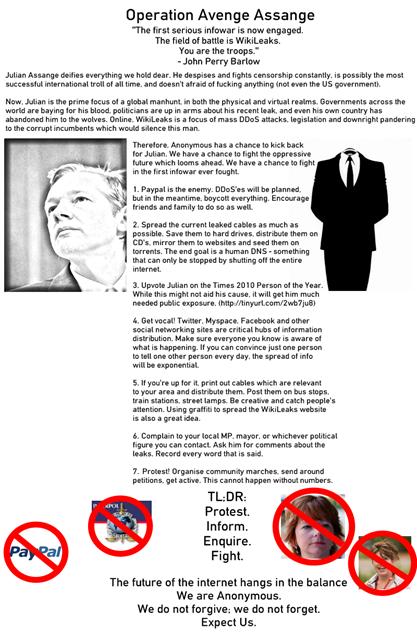 Operation Avenge Assange
